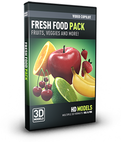 Video Copilot Fresh Food Pack (Download)