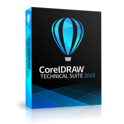 CorelDRAW Technical Suite 2019 Enterprise License (includes 1 Year CorelSure Maintenance)(51-250)